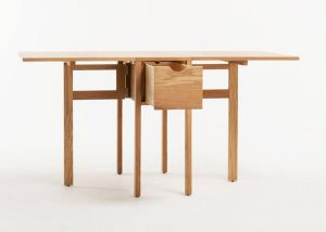 FOLDED DINING TABLE FOR SMALL KITCHEN LOOK LARGER
