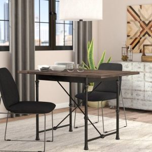 INDUSTRIAL DINING TABLE FOR SMALL KITCHEN LOOK LARGER