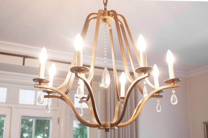 SIMPLE TIPS FOR SMALL KITCHEN CHANDELIER AND THE ROOM TEMPERATURE