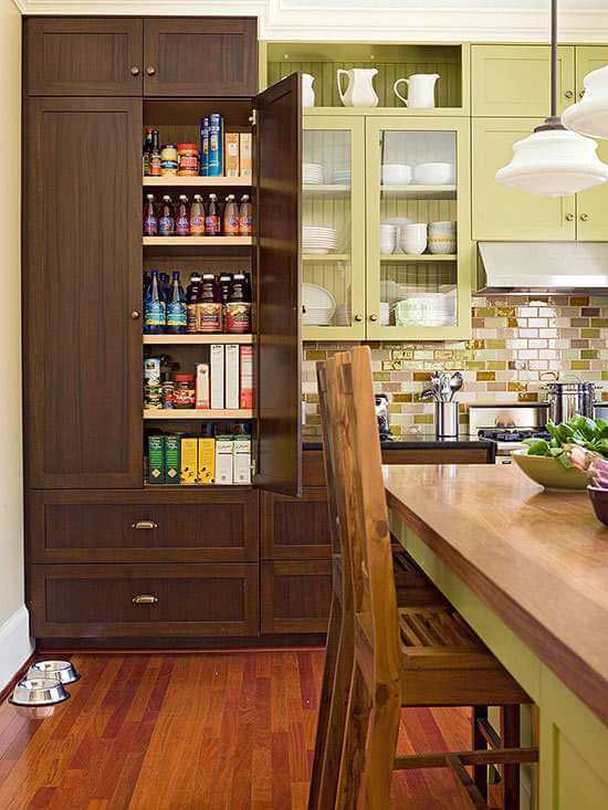 SMALL KITCHEN CABINET PANTRY DESIGN IDEAS