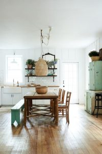 THE RIGHT FINISH SMALL FRENCH COUNTRY KITCHEN