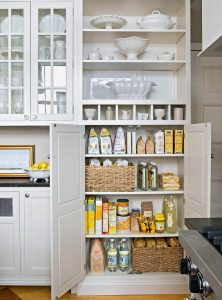VERTICAL SMALL KITCHEN PANTRY SPACE SAVING