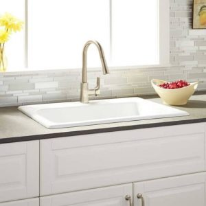 CLASSIC DESIGN FOR SMALL KITCHEN SINK DIMENSIONS