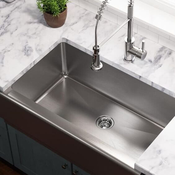 SPACEY STAINLESS STEEL DESIGN FOR SMALL KITCHEN CORNER SINK DIMENSIONS