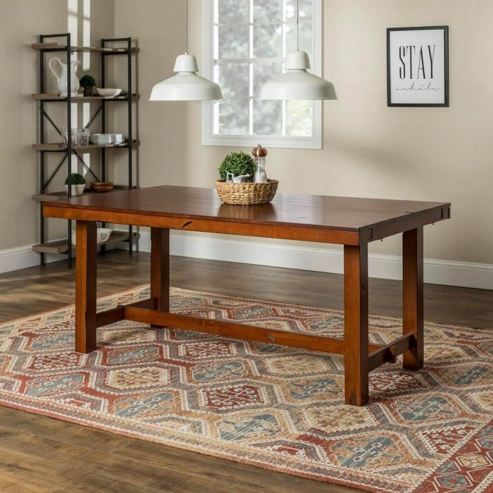 ANTIQUE VIBE SMALL KITCHEN DINING TABLE DESIGN IDEAS