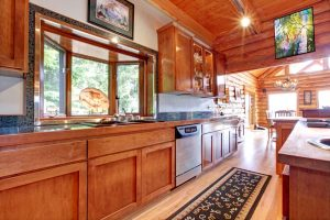 BEAUTIFUL RUG STYLR FOR SMALL CABIN KITCHEN IDEAS