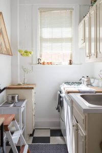 CLEAN SMALL GALLEY KITCHEN IDEAS ON A BUDGET