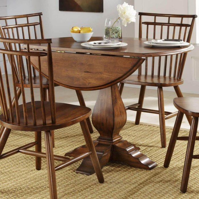 COLLAPSIBLE CLASSIC SMALL KITCHEN DINING TABLE IDEAS FOR 2 OR 4 CHAIRS