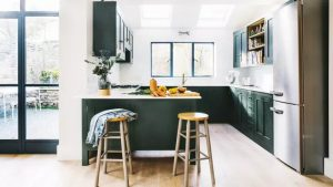 HOW TO MAKE A SMALL KITCHEN LOOK BIGGER WITH COLORING TIPS
