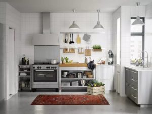 HOW TO MAKE A SMALL KITCHEN LOOK BIGGER WITH MINIMALISM STYLE