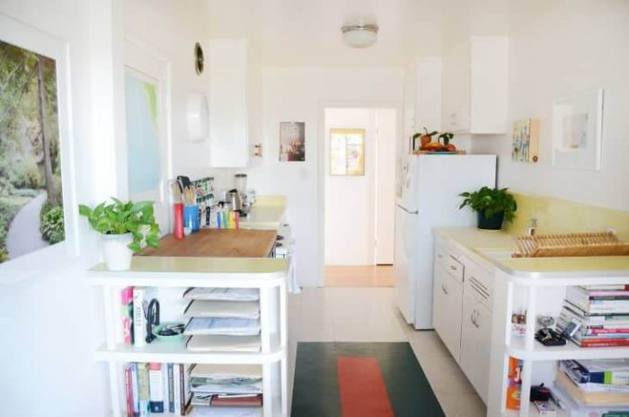 INTERESTING SMALL GALLEY KITCHEN IDEAS ON A BUDGET