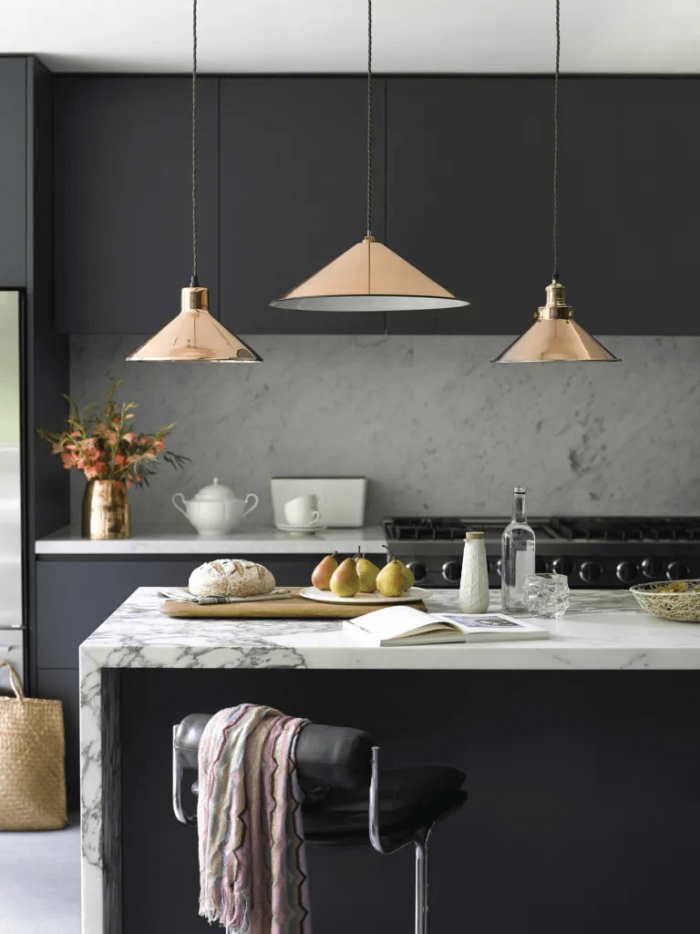 LIGHTING TO MAKE A SMALL KITCHEN LOOK BIGGER