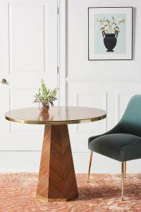 LUXURY ROUND TABLE FOR SMALL KITCHEN DINING ROOM