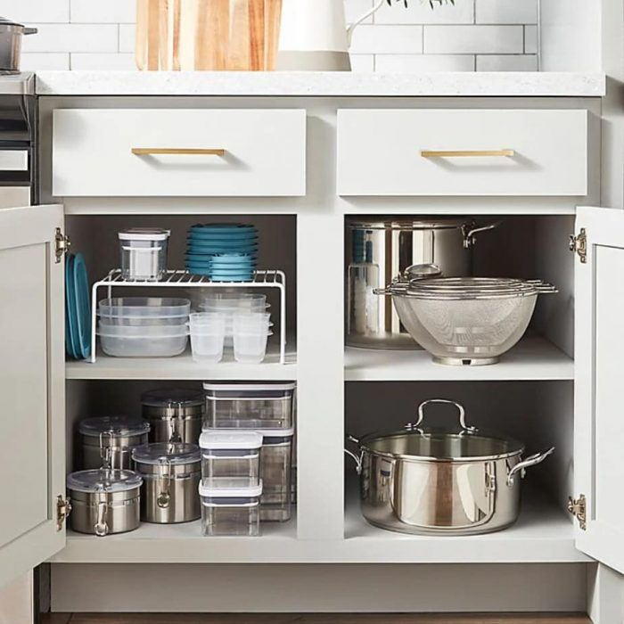 MAXIMIZE SMALL BASEMENT KITCHEN SPACE WITH CABINET