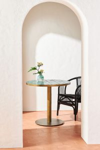 MEDITERRANIAN STYLE DESIGN IDEAS FOR SMALL KITCHEN TABLE WITH 2 CHAIRS