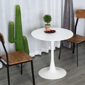 TINY WHITE ROUND TABLE DESIGN IDEAS WITH 2 CHAIRS FOR SMALL KITCHEN