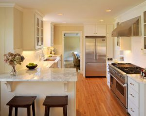 GREAT INSPIRATION YOU CAN TRY TO BUILD A SMALL KITCHEN WITH PENINSULA