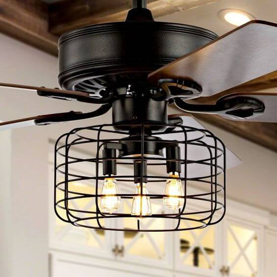 SMALL KITCHEN CEILING FANS THE INDUSTRIAL TOUCH