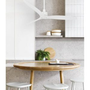 SMALL KITCHEN CEILING FANS WHITE WINDMILL