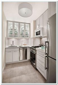 GREY MODERN L SHAPED KITCHEN DESIGNS FOR SMALL KITCHENS