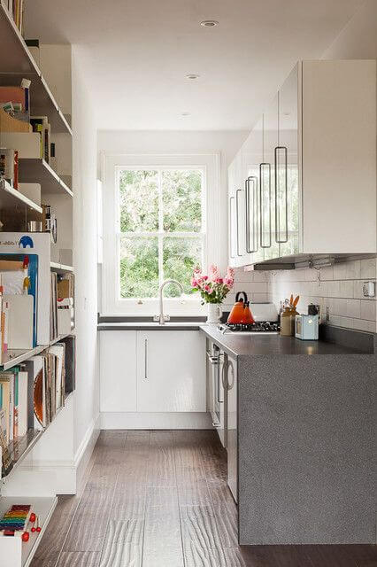 L SHAPED GALLEY KITCHEN DESIGNS FOR SMALL KITCHENS