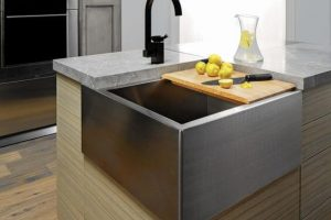 Awesome 10 Small Kitchen Island with Sink Ideas